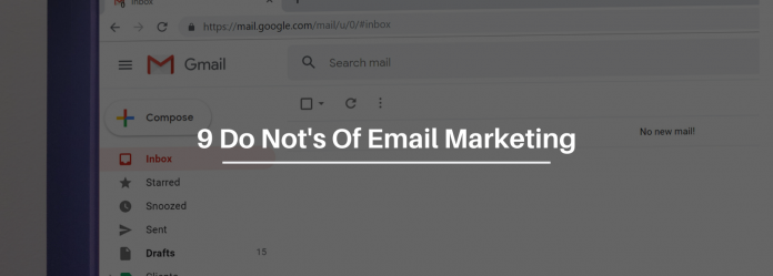 9 Things You Do NOT Want To Do When Sending Emails